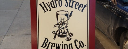 Hydro Street Brewing Company is one of Wisconsin Breweries.