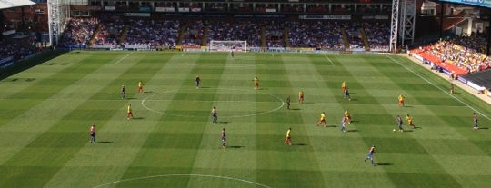 Selhurst Park | Crystal Palace FC is one of Big Matchs's Today!.