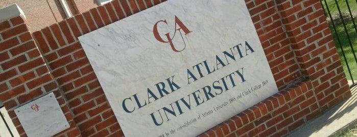 Clark Atlanta University is one of Georgia, GA USA.