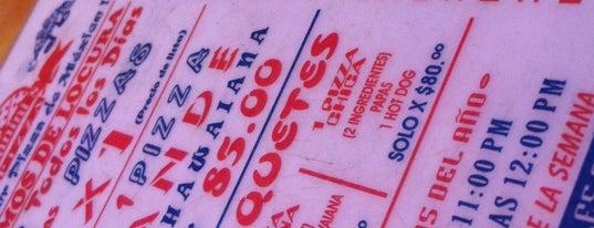 Gianini's Pizza is one of en la roma....