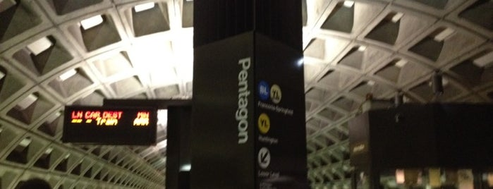 Pentagon Metro Station is one of DC Metro Insider Tips.