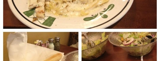 Olive Garden is one of Nancy's A.Kraus Places&Food's&	Ect... <3.