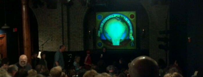 Open Eye Theatre is one of Tempat yang Disukai Alan.