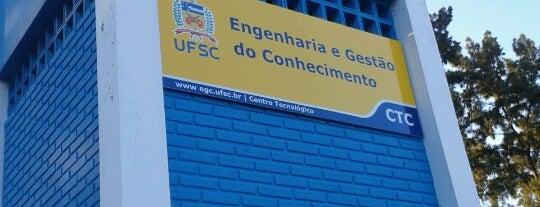 Laboratório de Educação A Distância LED/EGC is one of สถานที่ที่ Mayara ถูกใจ.