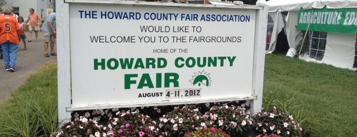 Howard County Fairgrounds is one of TRAVELING.
