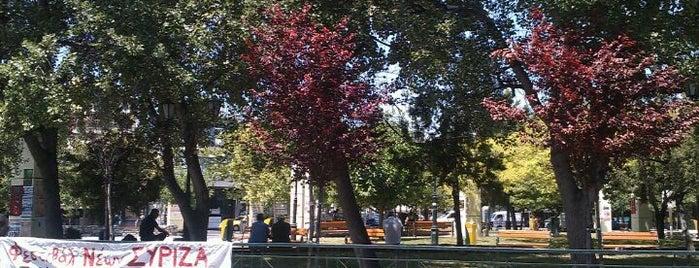 Πλατεία Αγίων Αναργύρων is one of Ifigeniaさんの保存済みスポット.
