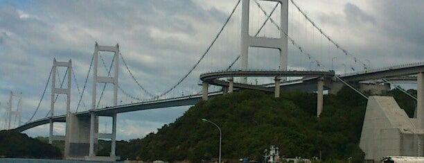 来島海峡第二大橋 is one of 西瀬戸自動車道(しまなみ海道).