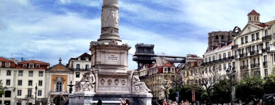 Rossio is one of LISBON THINGS TO DO.