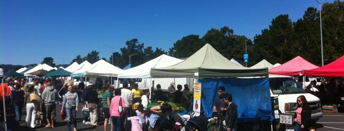 San Mateo Farmers Market is one of The Bay.