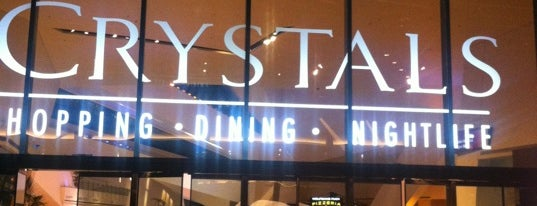 The Shops at Crystals is one of NewNowNext Style.