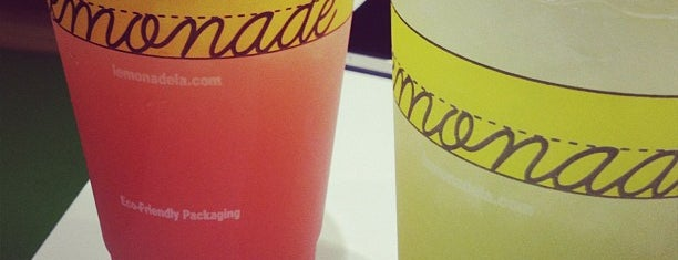 Lemonade is one of Eat.