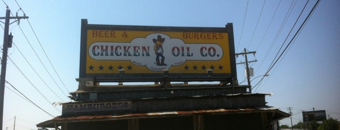 Chicken Oil Company is one of Favorite Aggieland Hangouts.