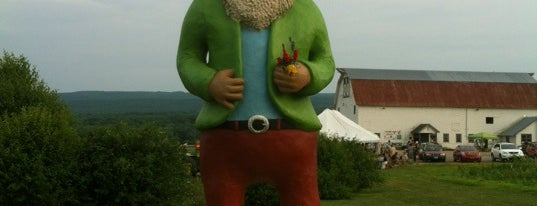 Largest Gnome In The World is one of Upstate.