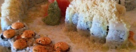 Sweet Basil Thai Cuisine & Sushi is one of Orte, die Emilio gefallen.