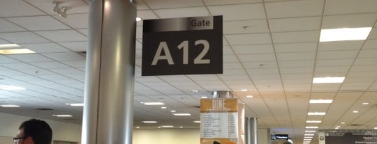 Gate A12 is one of Gespeicherte Orte von Stephanie.