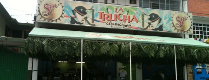 La trucha guapachosa is one of Lugares guardados de Pablo.