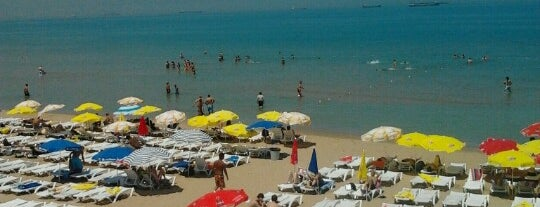 Tırmata Beach Club is one of Orte, die Mahi gefallen.