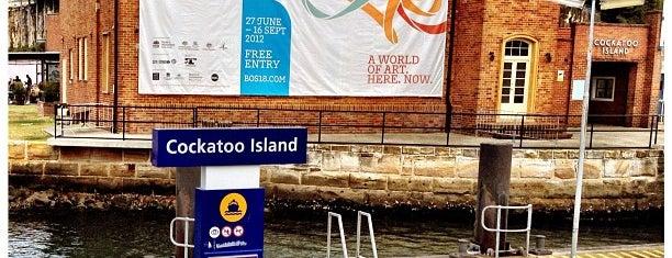 Cockatoo Island is one of Australia - Sydney.