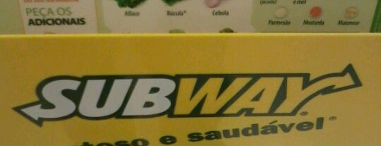 Subway is one of Thiago 님이 좋아한 장소.