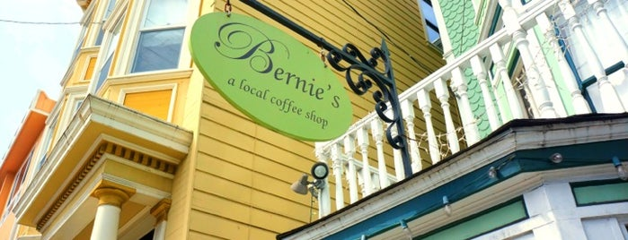 Bernie's Cafe is one of to do sf!.