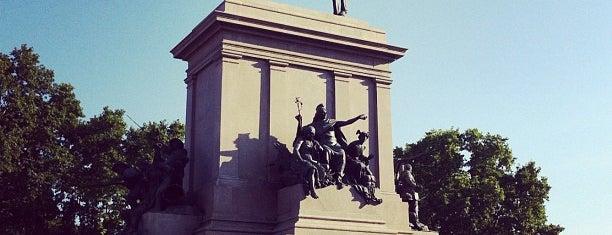 Piazzale Giuseppe Garibaldi is one of Rome / Roma.