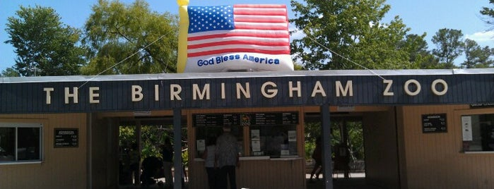 Birmingham Zoo is one of Steel City.