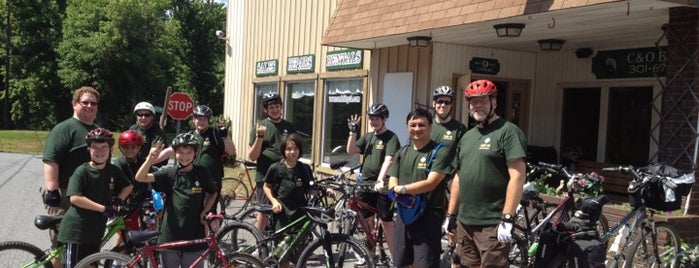 C & O Bicycle Shop is one of Bikabout's Guide to the GAP Trail and C&O Towpath.