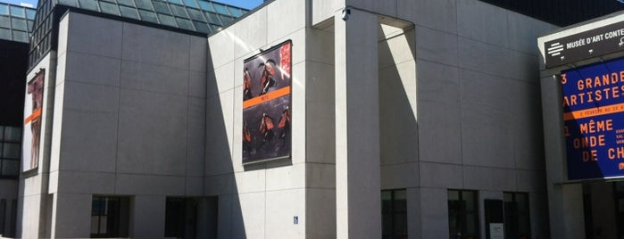 Musée d'art contemporain de Montréal (MACM) is one of YUL.