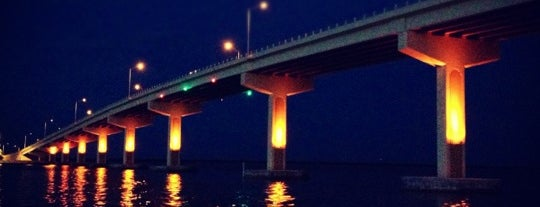 A. Max Brewer Memorial Bridge is one of Discover Florida's Space Coast.