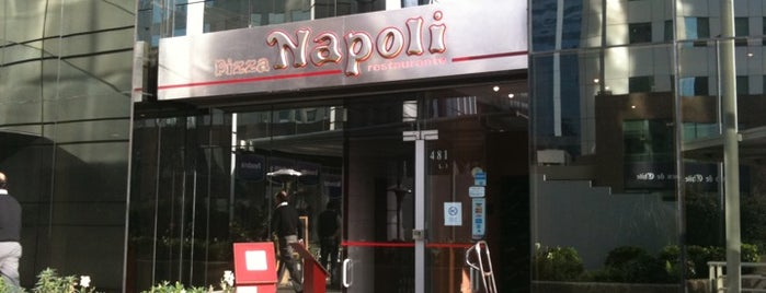 Pizza Napoli is one of Locais curtidos por Ian.
