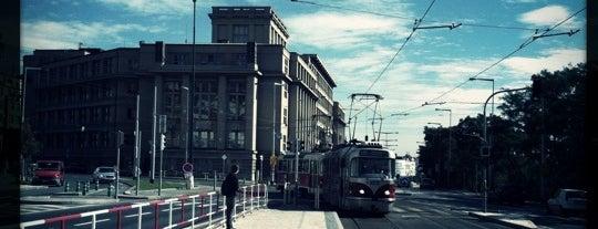 Nábřeží Kapitána Jaroše (tram) is one of Tempat yang Disukai Oleksandr.