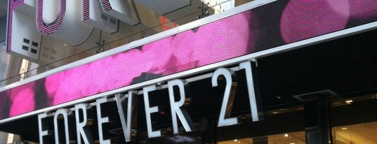 Forever 21 is one of Guide to New York's best spots.