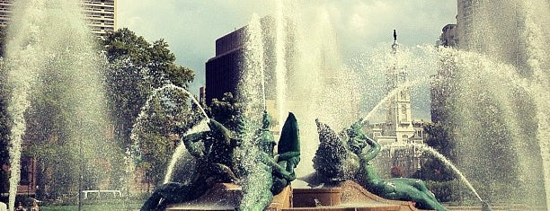 Swann Memorial Fountain is one of Aaron's Philly Birthday Weekend.