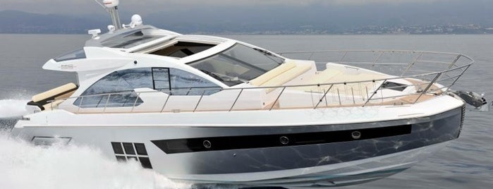 AZIMUT Yachts France is one of My places.