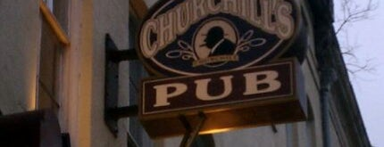 Churchill's Pub is one of Global Pints Society.