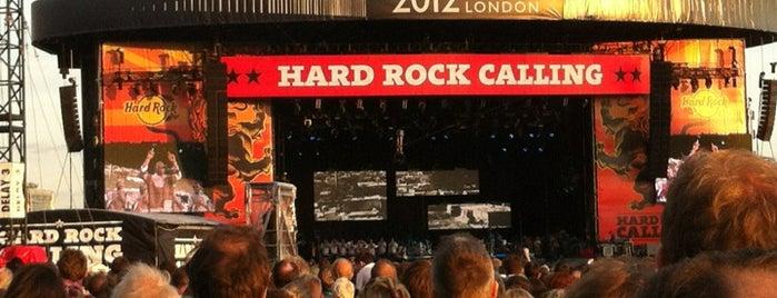 Hard Rock Calling is one of Hard Rock Cafes I've Visited.