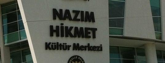 Nazım Hikmet Kültür Merkezi is one of Yaso 님이 좋아한 장소.