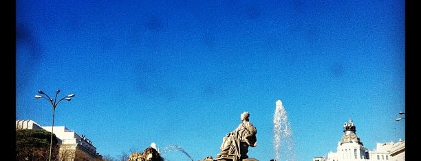 Fuente de La Cibeles is one of The Best Of Madrid.