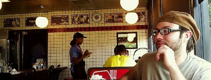 Waffle House is one of Places With Mostly Bad Reviews.