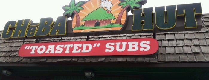 Cheba Hut Toasted Subs is one of Lugares favoritos de Hiroshi ♛.
