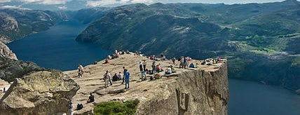 Preikestolen is one of Lugares favoritos de Tamas.