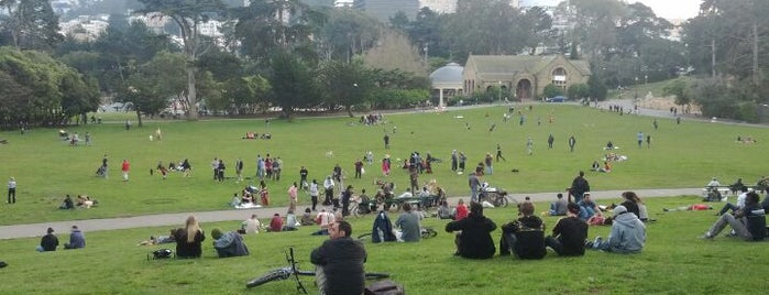 Hippie Hill is one of SF.