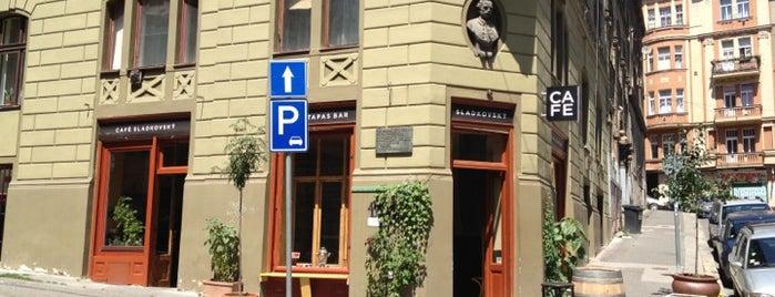 Café Sladkovský is one of Coffee time in Prague.