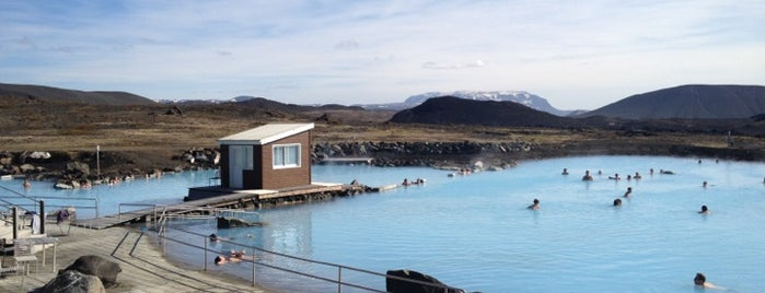 Jarðböðin – Mývatn Nature Baths is one of Locais salvos de Ümmühan.