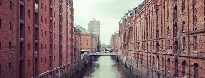 Speicherstadt is one of StorefrontSticker #4sqCities: Hamburg.