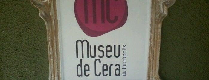 Museu de Cera de Petrópolis is one of Petrópolis RJ.