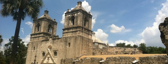 Mission Concepción is one of StorefrontSticker #4sqCities: San Antonio.