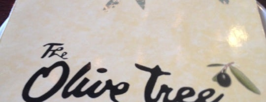 The Olive Tree is one of Favorite Eating Spots.