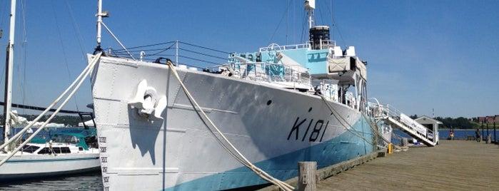 HMCS Sackville is one of Ships modern.