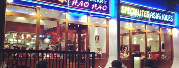 Hao Hao is one of Paris // Chinatown.